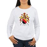 Mendel Family Crest Women's Long Sleeve T-Shirt