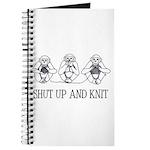 Shut Up and Knit Monkey Journal