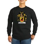 Meltzer Family Crest Long Sleeve Dark T-Shirt