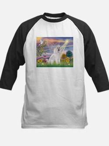 Cloud Angel White Poodle Tee