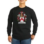 Mellmann Family Crest Long Sleeve Dark T-Shirt