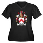 Mellmann Family Crest Women's Plus Size V-Neck Dar