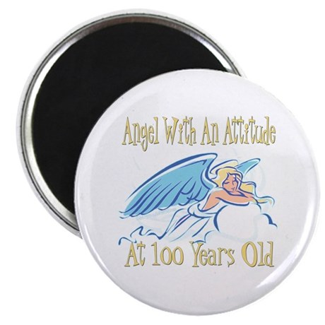 Angel Attitude 100th Magnet