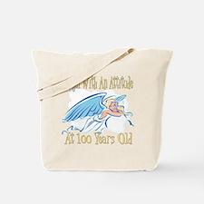 Angel Attitude 100th Tote Bag