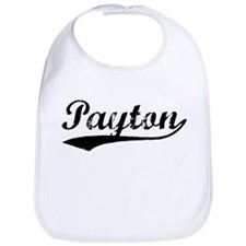 Vintage Payton (Black) Bib