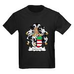 Meinecke Family Crest Kids Dark T-Shirt