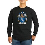 Mehner Family Crest Long Sleeve Dark T-Shirt