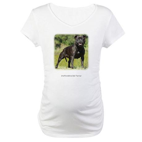 Staffordshire Bull Terrier 9R018D-024 Maternity T-