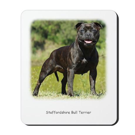 Staffordshire Bull Terrier 9R018D-024 Mousepad