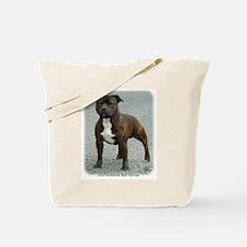 Staffordshire Bull Terrier 9F23-12 Tote Bag