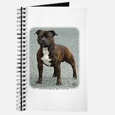 Staffordshire Bull Terrier 9F23-12 Journal