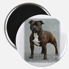 Staffordshire Bull Terrier 9F23-12 Magnet