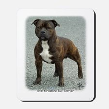 Staffordshire Bull Terrier 9F23-12 Mousepad