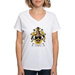 Mausser Family Crest Women's V-Neck T-Shirt