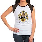 Mausser Family Crest Women's Cap Sleeve T-Shirt