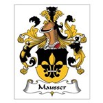 Mausser Family Crest Small Poster