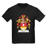 Mauch Family Crest Kids Dark T-Shirt