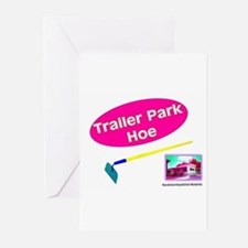Trailer Park Hoe Greeting Cards (Pk of 10)
