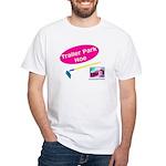 Trailer Park Hoe White T-Shirt