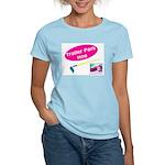 Trailer Park Hoe Women's Pink T-Shirt