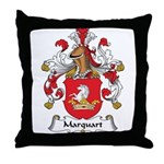 Marquart Family Crest Throw Pillow