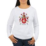 Marquart Family Crest Women's Long Sleeve T-Shirt