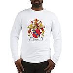 Manger Family Crest Long Sleeve T-Shirt