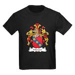 Manger Family Crest Kids Dark T-Shirt