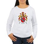 Manger Family Crest Women's Long Sleeve T-Shirt