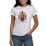 Manger Family Crest Women's T-Shirt
