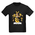 Malsch Family Crest Kids Dark T-Shirt