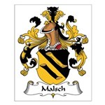 Malsch Family Crest Small Poster