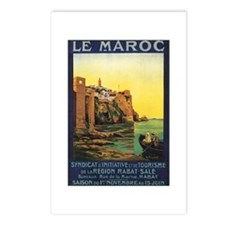 Vintage Morocco Postcards (Package of 8)