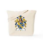 Mader Family Crest Tote Bag