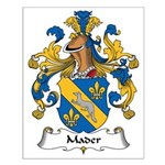 Mader Family Crest Small Poster