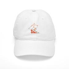 Skier Baseball Cap