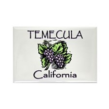 Temecula Grapes Rectangle Magnet