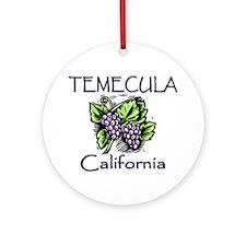 Temecula Grapes Ornament (Round)