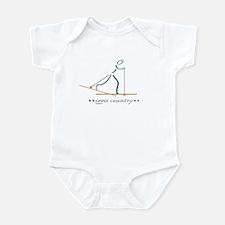 XC Skier Infant Bodysuit