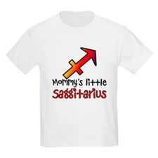 Mommy's Little Saggitarius Kids Light T-Shirt