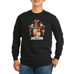 Lubbers Family Crest Long Sleeve Dark T-Shirt