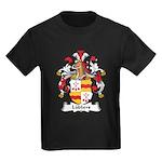 Lubbers Family Crest Kids Dark T-Shirt
