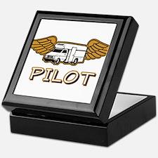 RV Pilot Keepsake Box