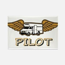 RV Pilot Rectangle Magnet