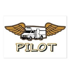 RV Pilot Postcards (Package of 8)