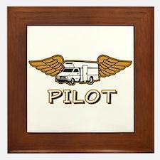 RV Pilot Framed Tile