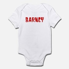 Barney Faded (Red) Infant Bodysuit