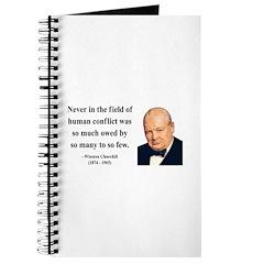 Winston Churchill 12 Journal