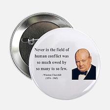 "Winston Churchill 12 2.25"" Button"