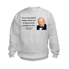 Winston Churchill 12 Sweatshirt